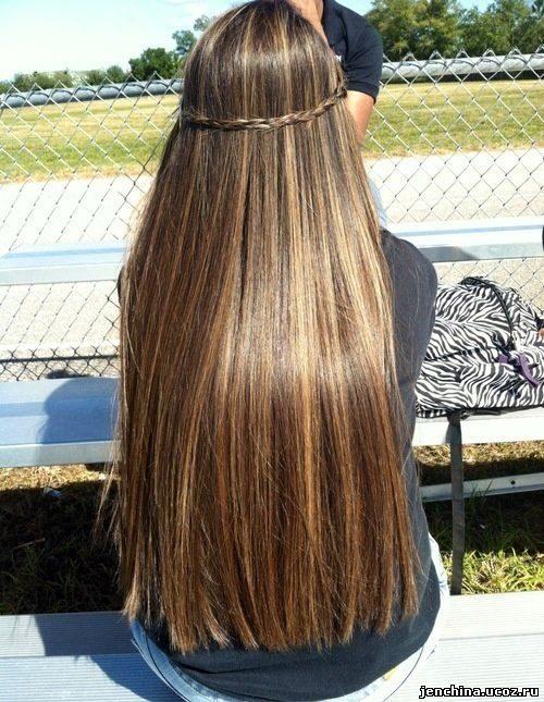 Высокие прически на длинные волосы своими руками