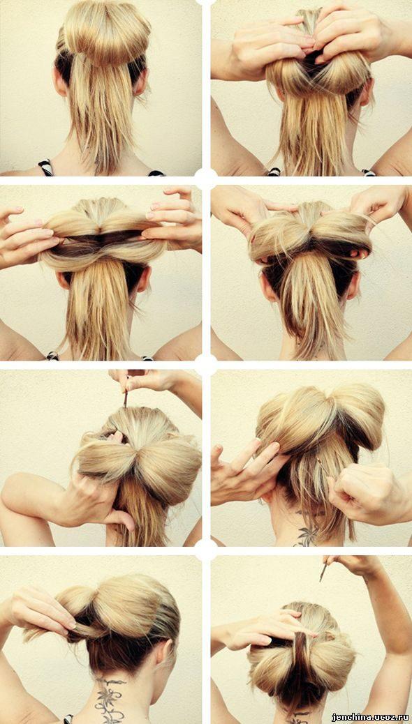 Красивые прически на длинные волосы своими руками пошагово
