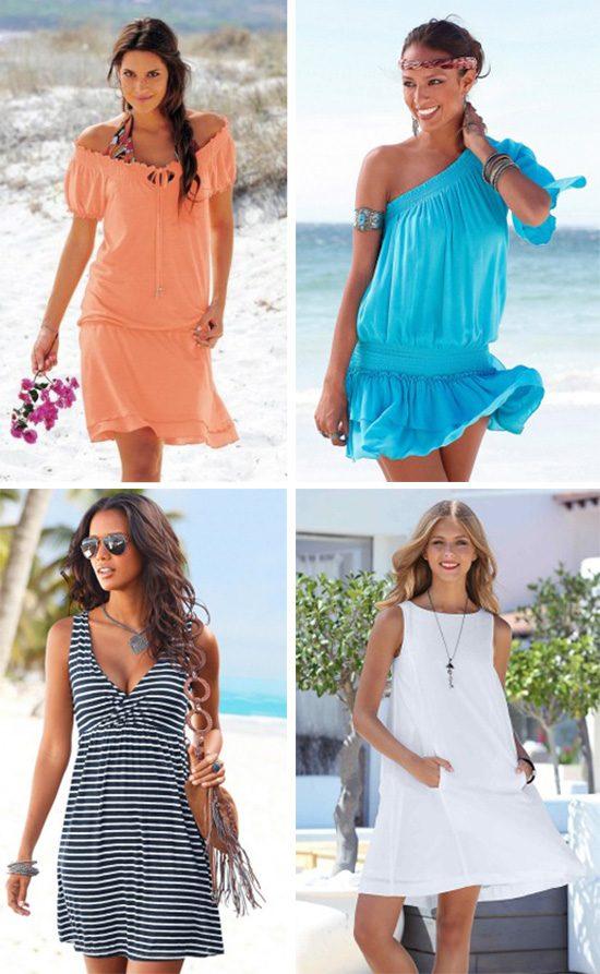 Платье Для Отдыха На Море Купить