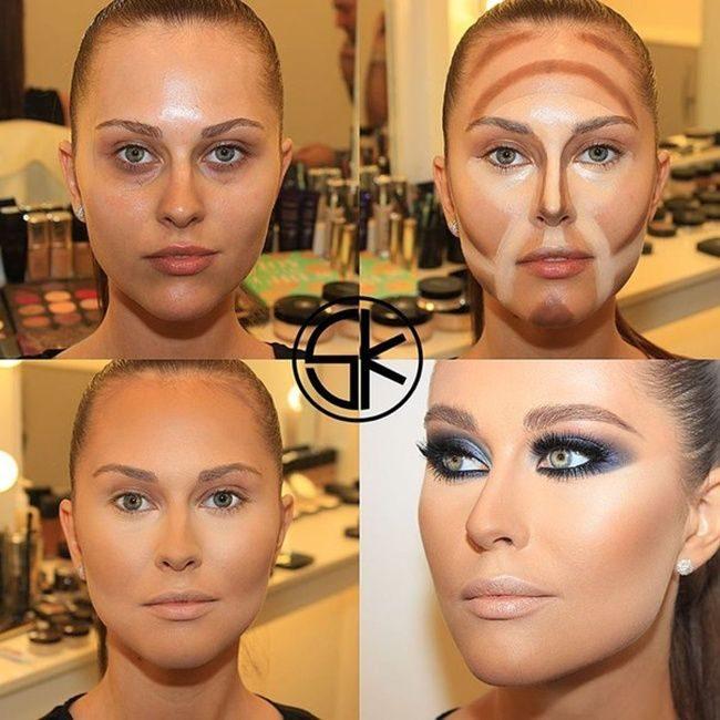Домашний профессиональный макияж в домашних условиях
