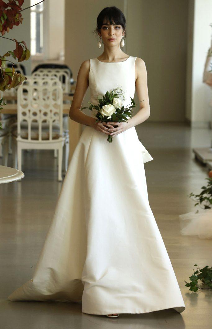 Фото свадебных платьев скромных