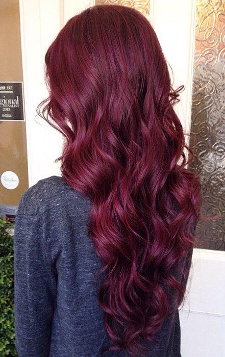 Чёрное дерево цвет волос