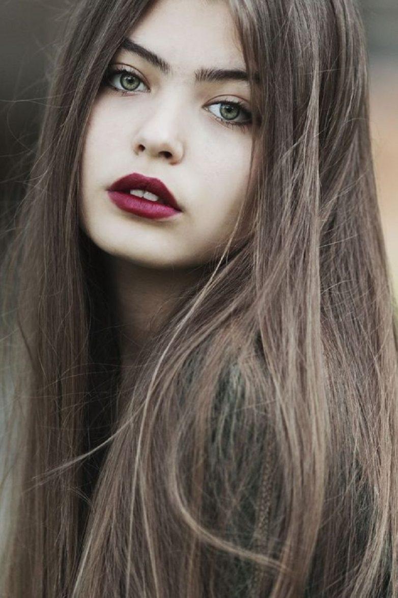 Силуэты девушек блондинка