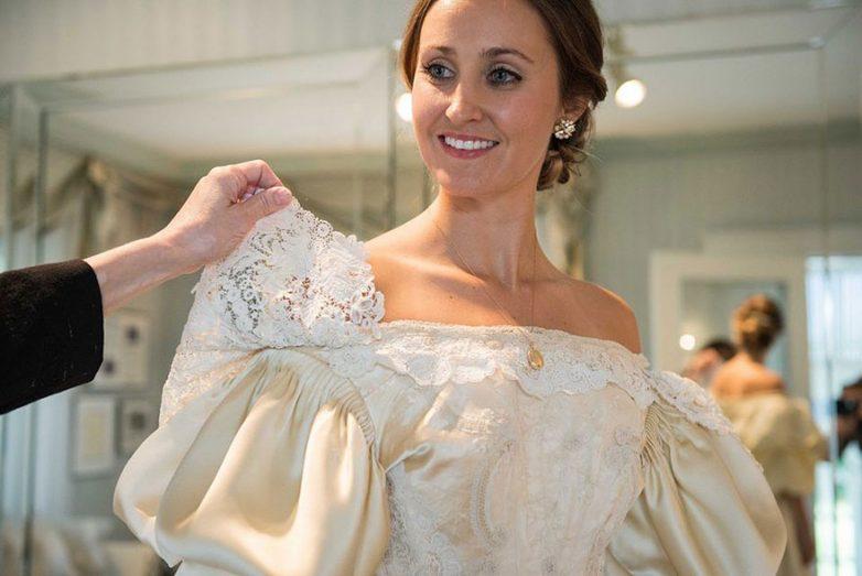 Свадебное платье, которому 120 лет