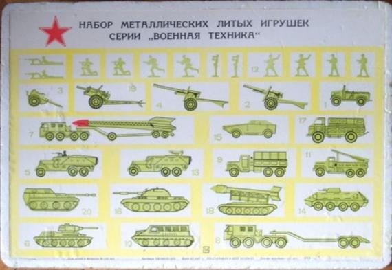 Военная техника игрушки ссср купить