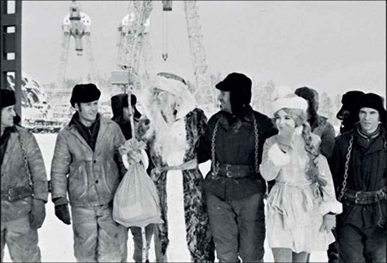 Как встречали новый год в 70-е