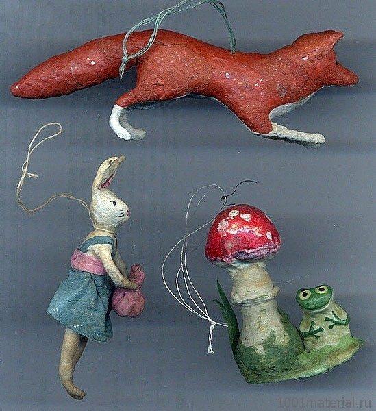 Советские ёлочные игрушки
