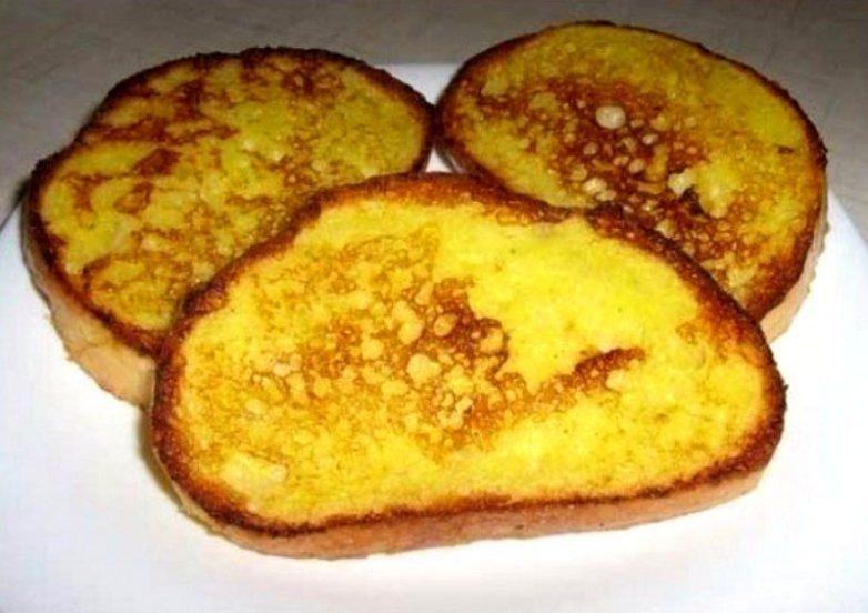 Вкусныеы из хлеба и яиц