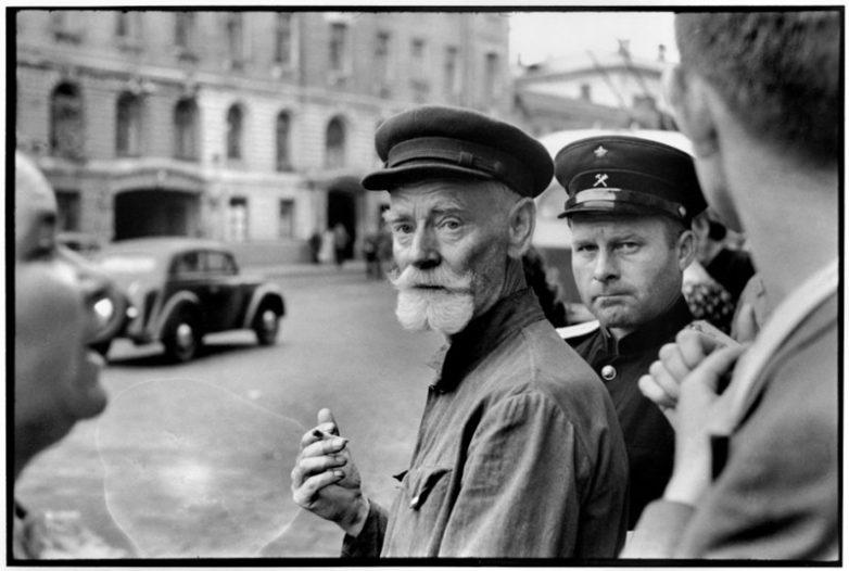 Москва в 1954 году