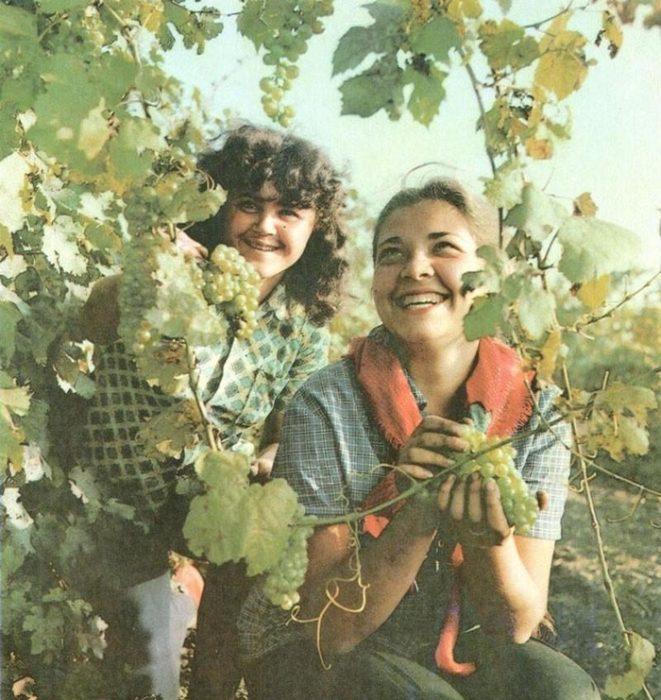 Фотографии советских женщин, совершенно не похожих на наших современниц