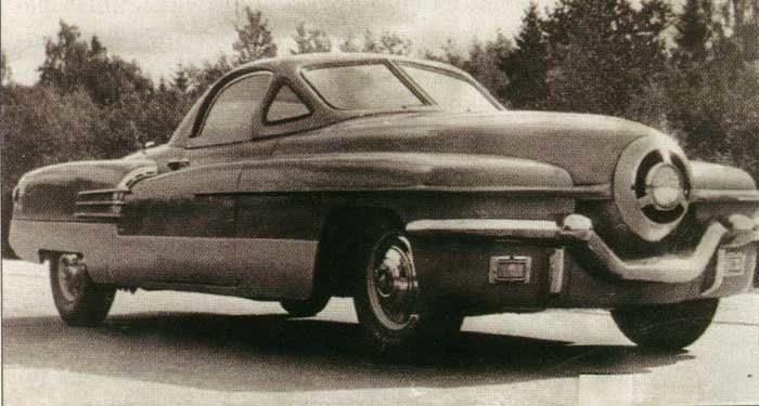 Советский автомобиль ЗИС-112 «Циклоп»