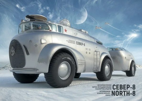 Советский вездеход, покоривший Антарктику