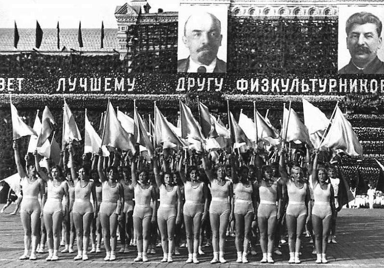 """Image result for фото парад физкультурников красная площадь сталин"""""""