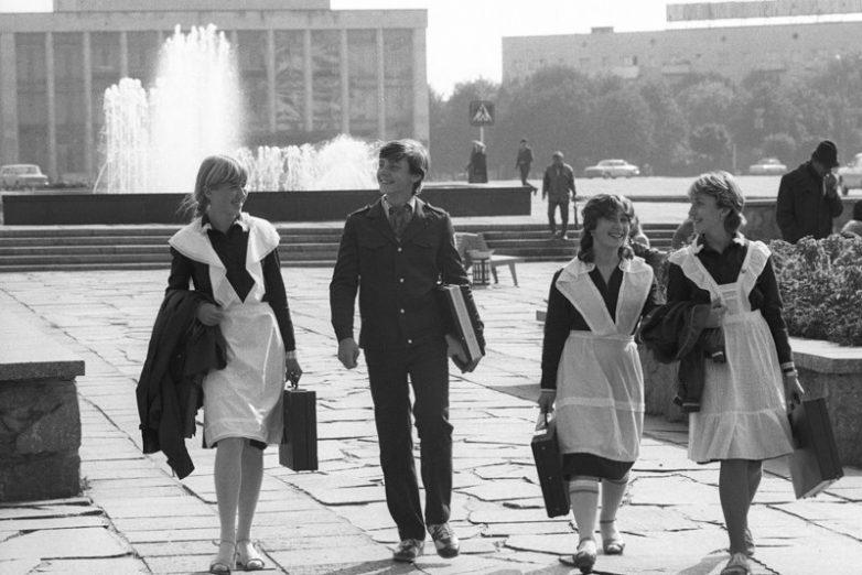 Фоторепортаж из советского прошлого