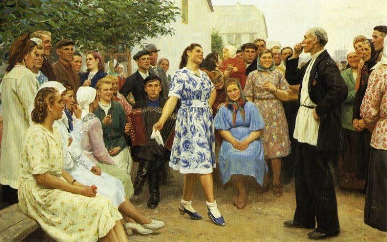 Советские женщины глазами художников