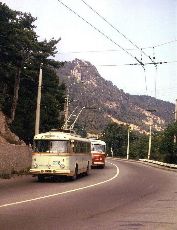Из Симферополя в Ялту на троллейбусе