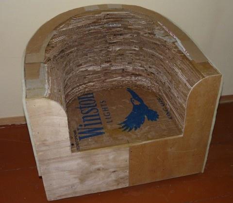 Картон мебель своими руками