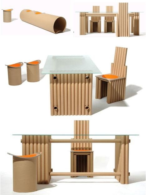Мебель картона своими руками