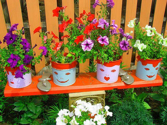 Поделки для сада и огорода своими руками из бревен