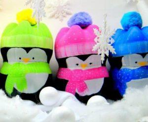 Пингвины из пластиковых бутылок своими руками пошагово