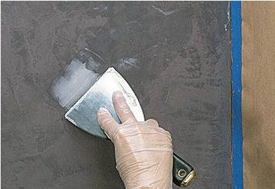 Белая венецианская штукатурка своими руками