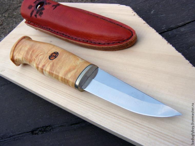 Как сделать небольшой грибной нож
