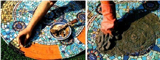 Как сделать мозаику своими руками в домашних 63