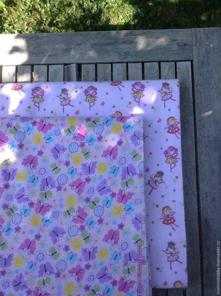 Шьем двустороннее байковое одеялко за 20 минут