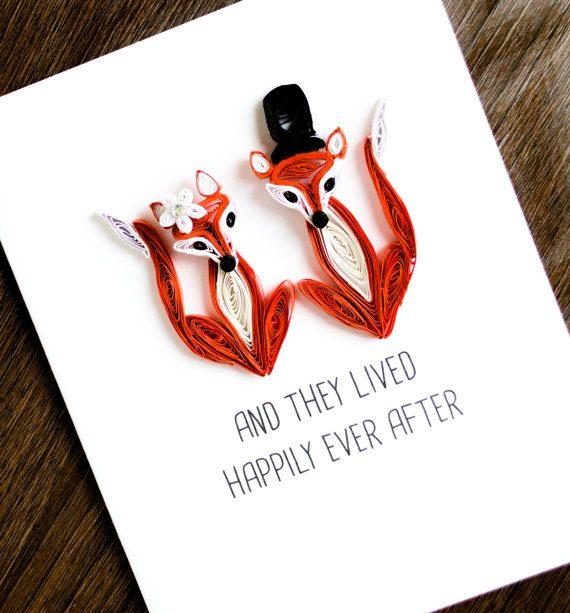 Квиллинг открытка папе на день рождения