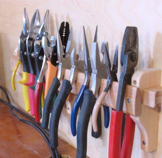 Идеи хранения инструмента