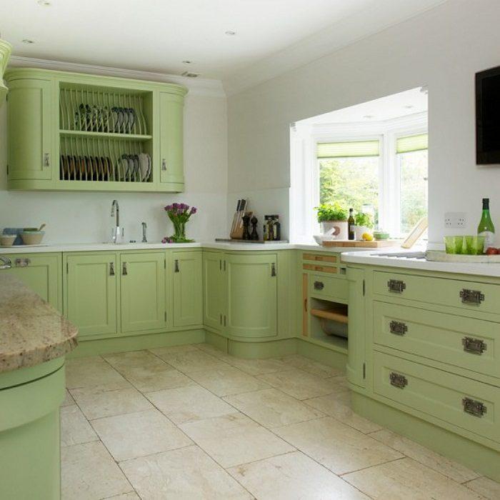 Green  White  Kitchen Cabinets  Kitchen  The Home Depot