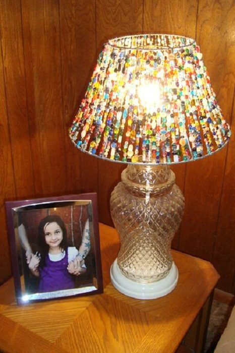 Абажур своими руками для настольной лампы без каркаса