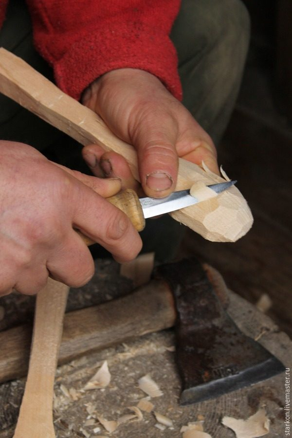Вырезать ложку своими руками