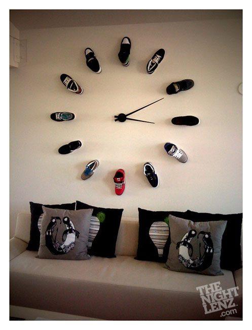 Часы на стену своими руками фото