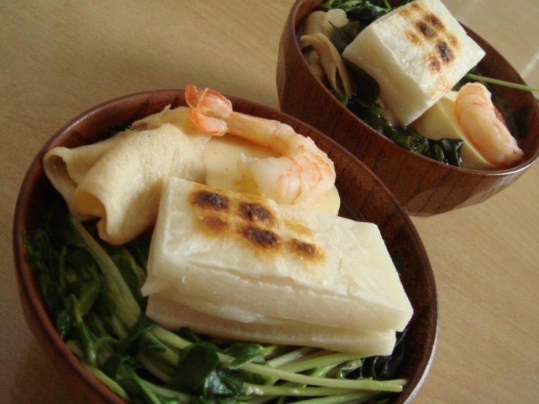 японская кухня рецепты с фото рисовые лепешки-хв10