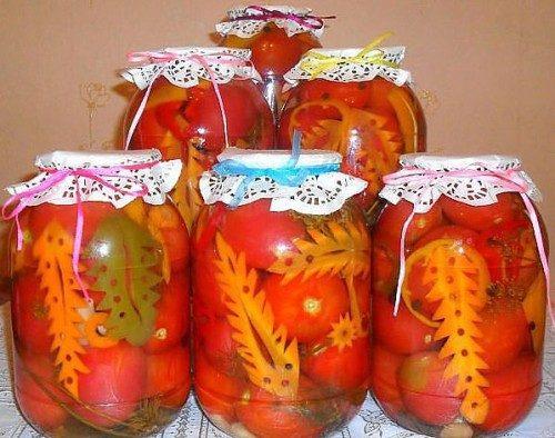 Деликатесные помидоры на зиму – 5 рецептов