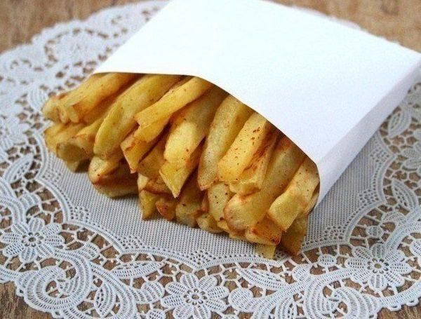 Аппетитный картофель фри без масла