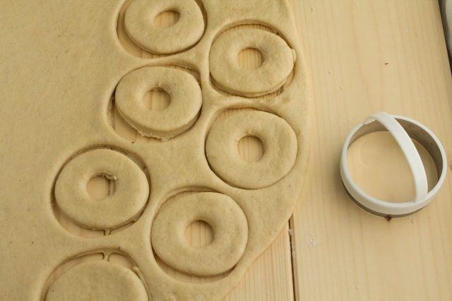 Печеные пончики к чаю