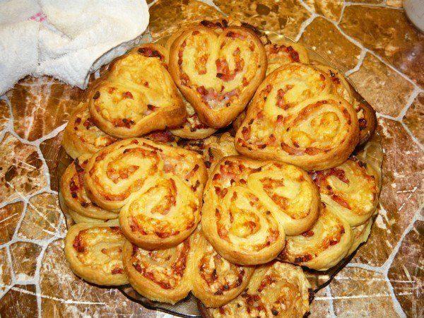Оригинальное печенье-закуска