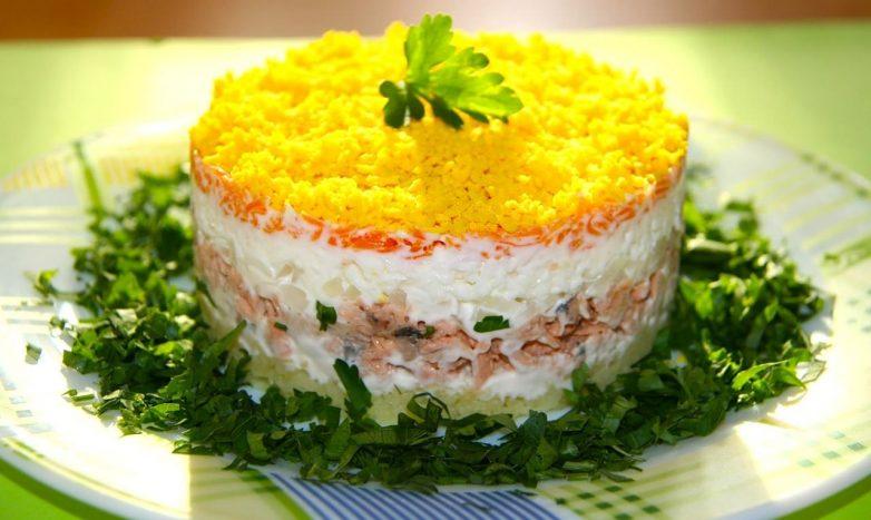рецепты салатов самых вкусных с фото
