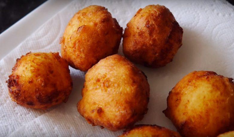Домашние пончики с творогом рецепт