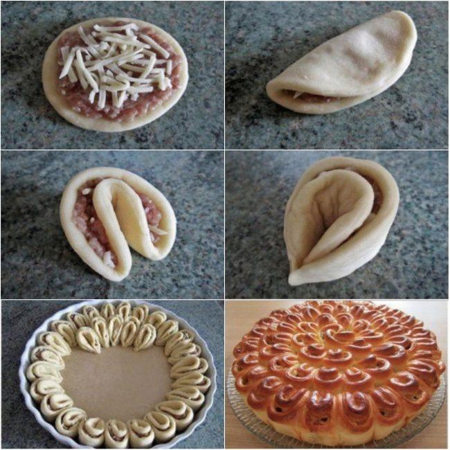Как сделать печенье в форме розочки