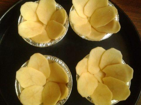 Цветы из картофеля в духовке — photo 9