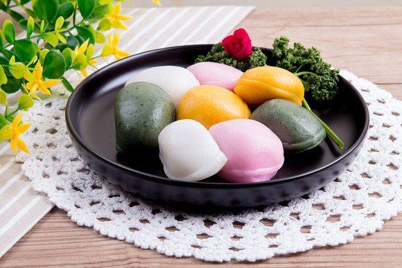 Рисовые пирожные корейские рецепты 179