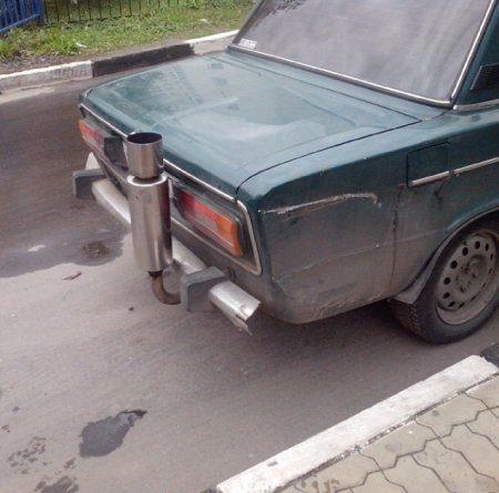 Автомобильные приколы ( 63 Фото)