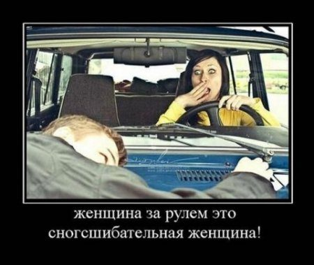 женщина за рулем фото приколы