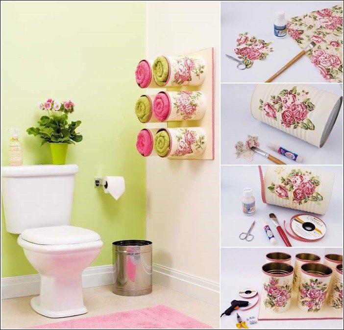 Поделки для ванной комнаты своими руками