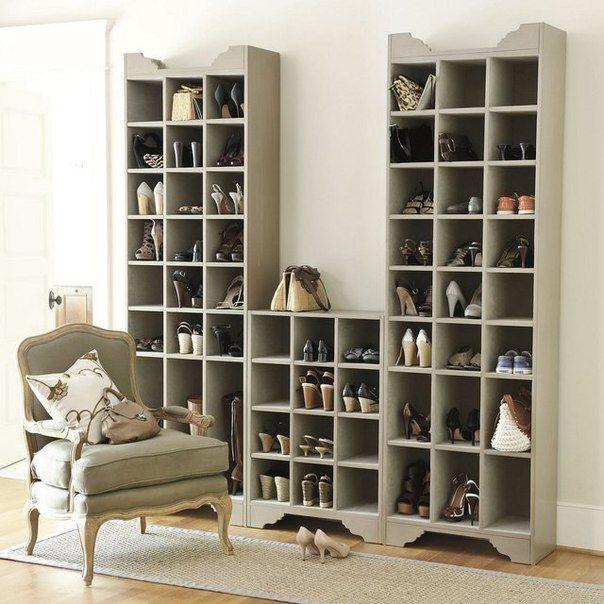 Интересных идей по хранению обуви - InfoNIAC ru