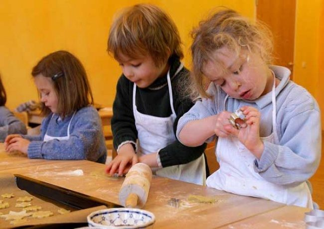 Мастер-классы с маленькими детьми