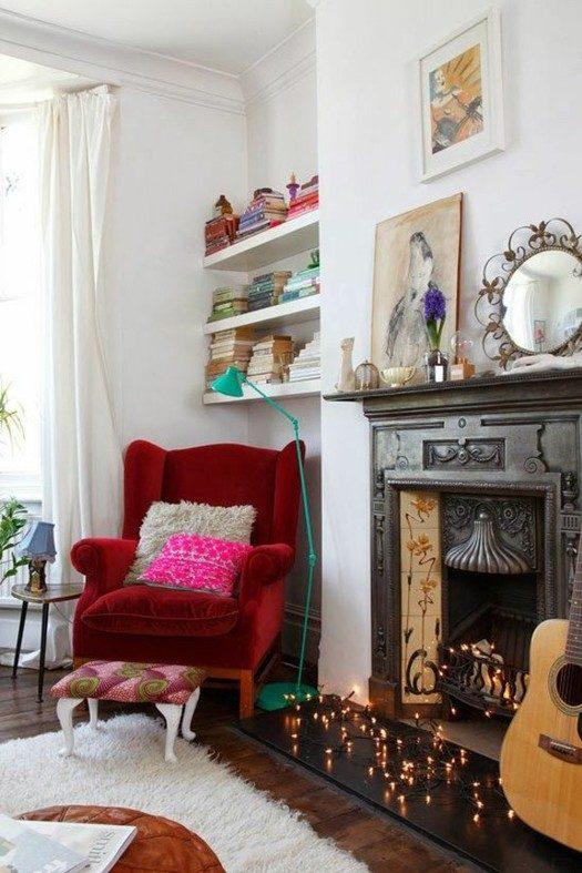 13 красивых идей украшения дома гирляндой!